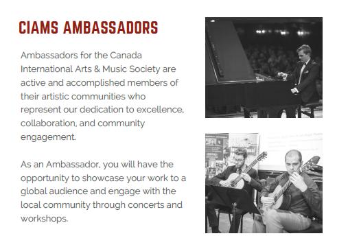 ambassador info